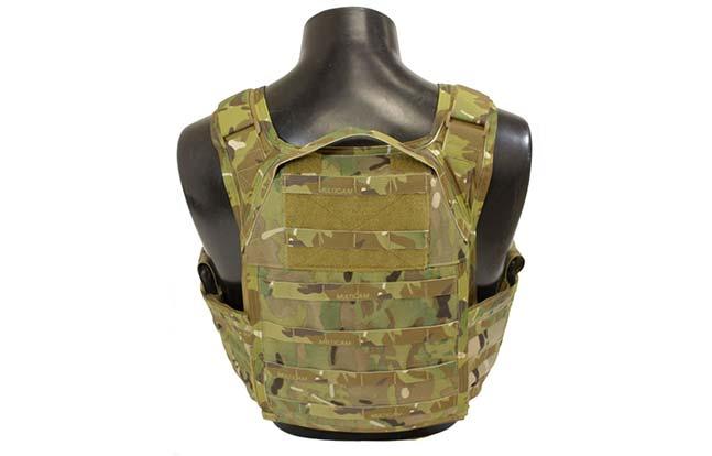 SKD Tactical Paraclete SOHPC back