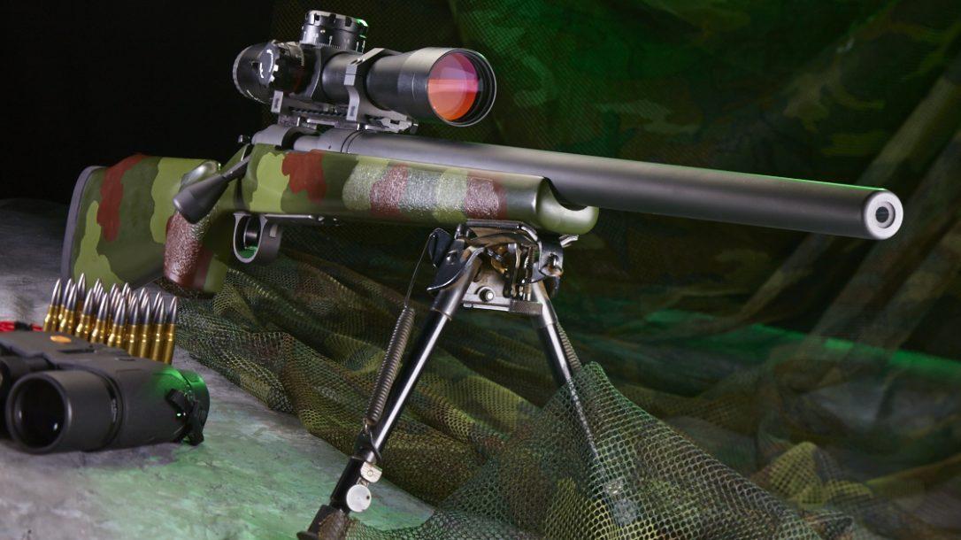 TACTICAL RIFLES M40A1 7.62mm top rifles swmp 2014 lead