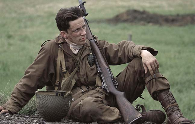 Band of Brothers field Hollywood Wartime Movies MS 2015