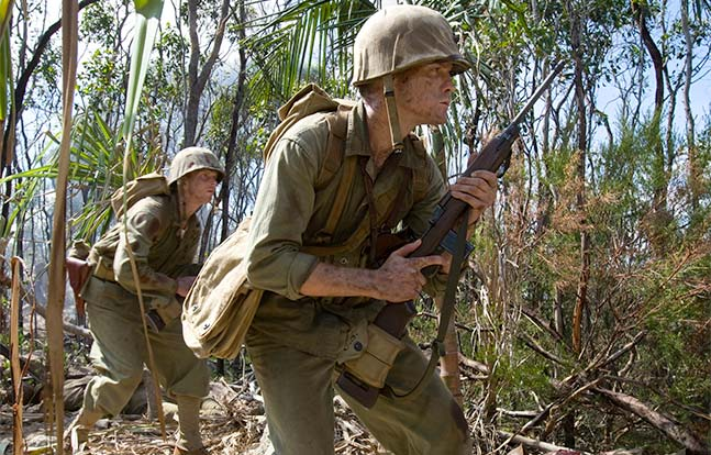 Hollywood Wartime Movies MS 2015 The Pacific M1 Carbine