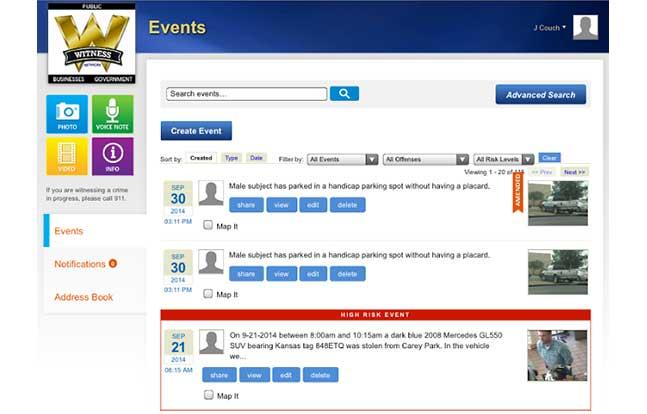 Witness Network App Sept