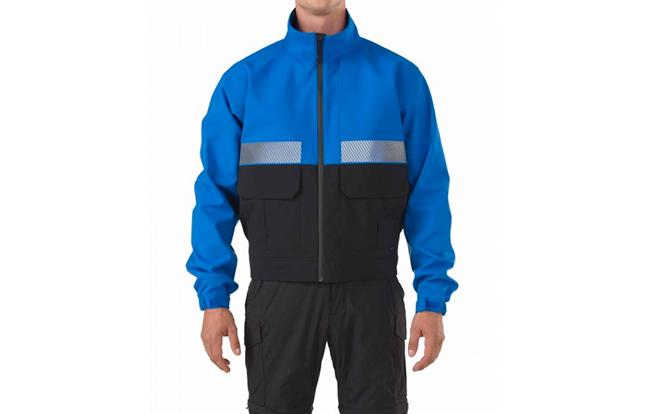 5.11 Tactical Bike Patrol Jacket blue front