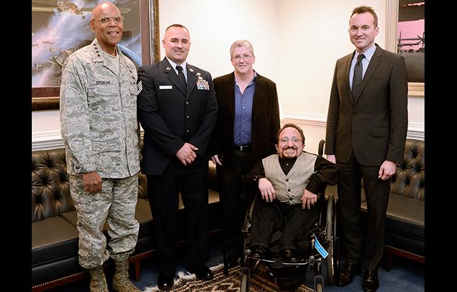 US Air Force 2014 Defense Disability Award