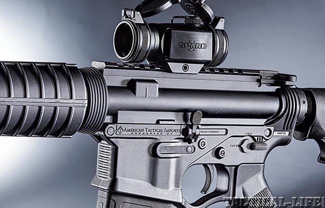 American Tactical's 5.56 Omni Hybrid AR 2015 lower