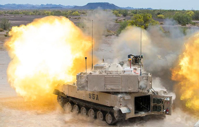 BAE Systems M109A7 Howitzer