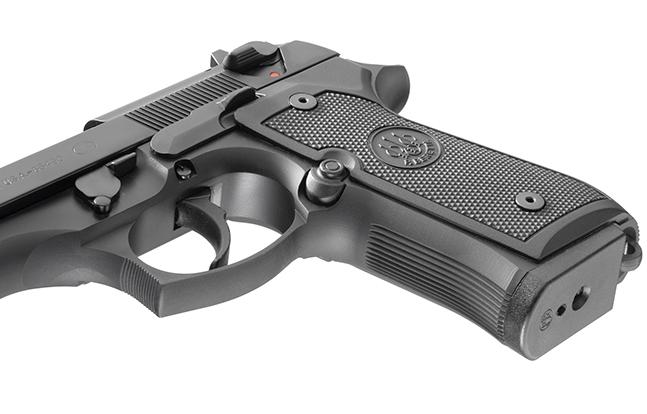 Beretta M9 SWMP Pistols 2014 grip