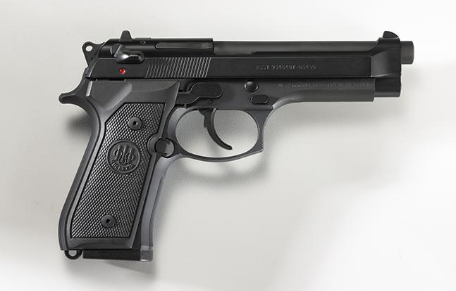 Beretta M9 SWMP Pistols 2014 lead