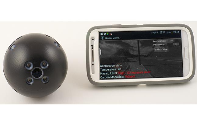 Bounce Imaging sensor