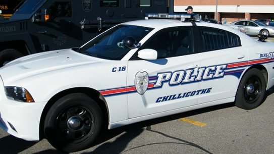 Chillicothe Police Department car