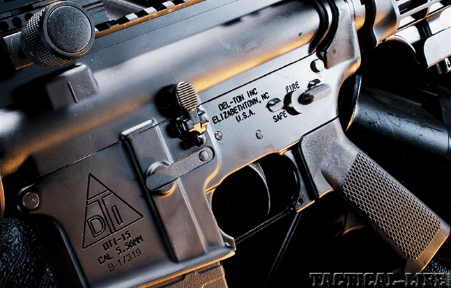 Del-Ton Extreme Duty AR 2015 controls