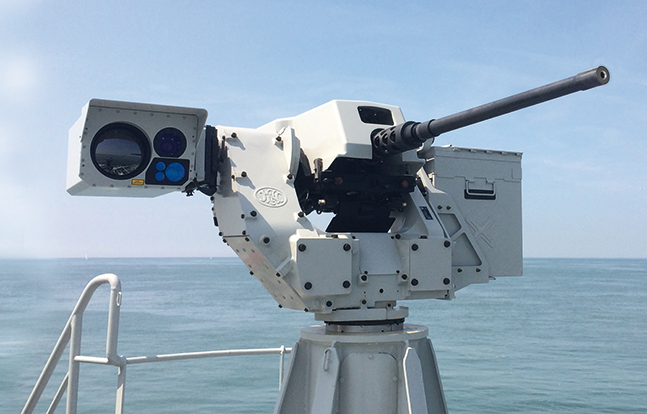 FN HerstalSea deFNder Remote Weapon Station lead