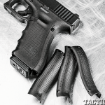 Glock 22 Remington 870 GWLE Glock panels