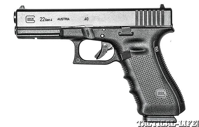 Glock 22 Remington 870 GWLE Glock