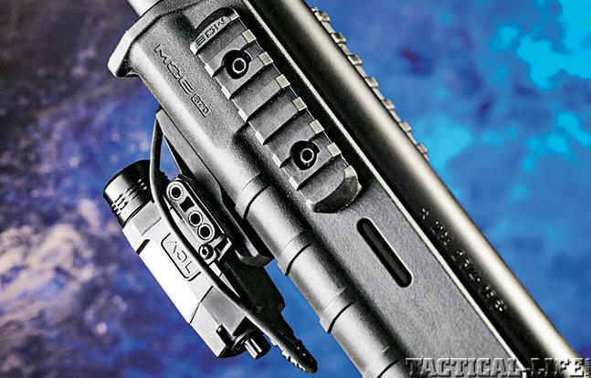 Glock 22 Remington 870 GWLE Rem rail