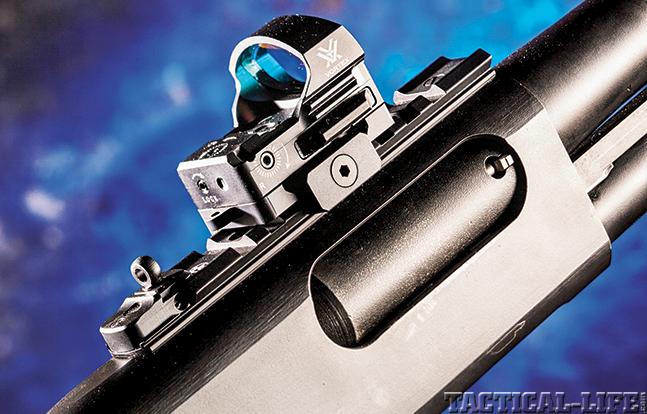 Glock 22 Remington 870 GWLE Rem sight