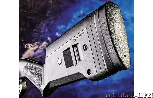 Glock 22 Remington 870 GWLE Rem stock