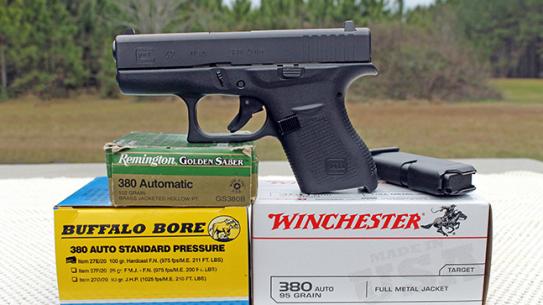 Glock 42 GWLE Dec 2014 field