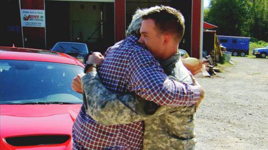 Jay Leno car Wounded Veteran