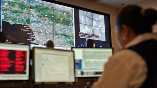 LAPD crime computer program