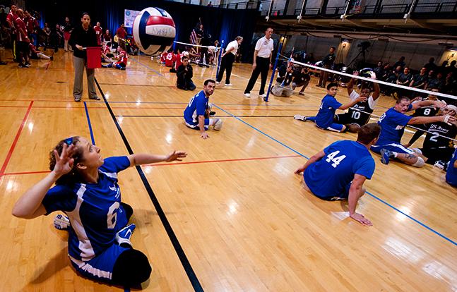 Pentagon Sitting Volleyball Tournament 2014