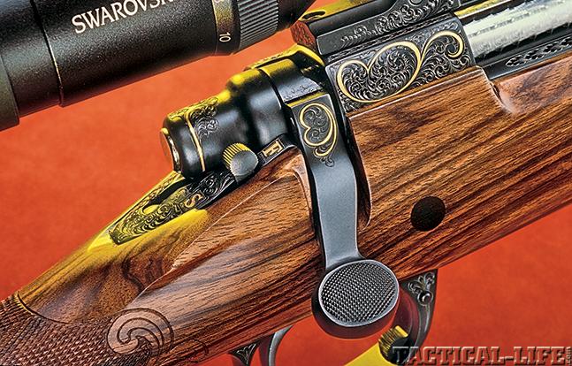 Remington Model 700 GBA 2015 engraving