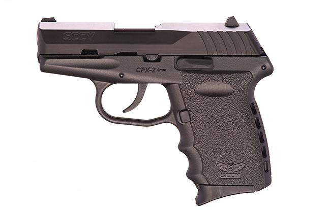 SCCY pocket pistols eg CPX-2