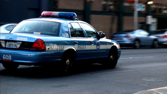 Seattle Police Department car