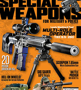SPECIAL WEAPONS FOR MILITARY & POLICE JANUARY/FEBRUARY 2015
