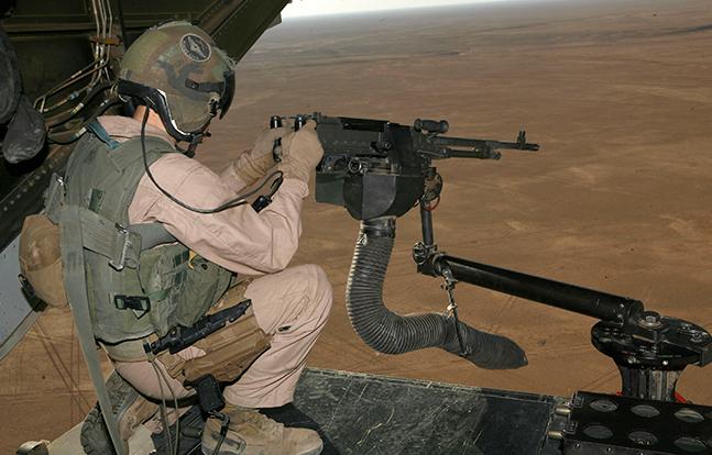 Veterans Day 2014 M240