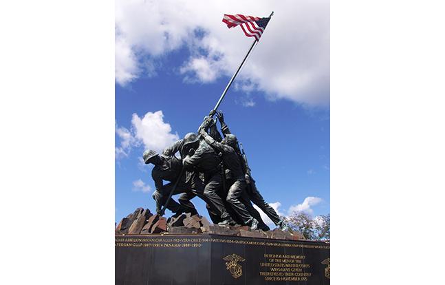 Veterans Day 2014 USMC Memorial