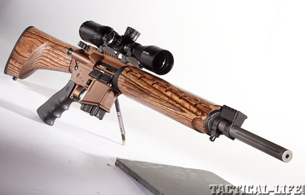 Gun Review Windham Weaponry S Wood Stocked Vex