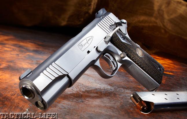 Combat Handguns top 1911 2015 AUTO-ORDNANCE THOMPSON 1911 TC .45 ACP lead