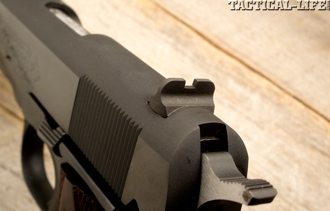 Combat Handguns top 1911 2015 COLT MARK IV SERIES 70 sight