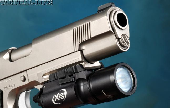 Combat Handguns top 1911 2015 CYLINDER & SLIDE TRIDENT II light