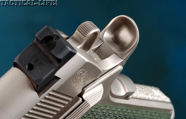Combat Handguns top 1911 2015 CYLINDER & SLIDE TRIDENT II sight