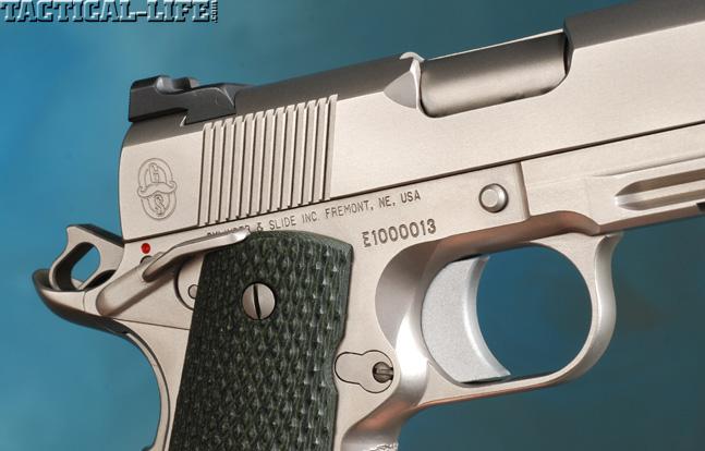 Combat Handguns top 1911 2015 CYLINDER & SLIDE TRIDENT II trigger