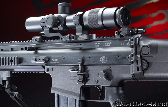 Top 30 Rifles TACTICAL WEAPONS 2014 FFN SCARs MK17