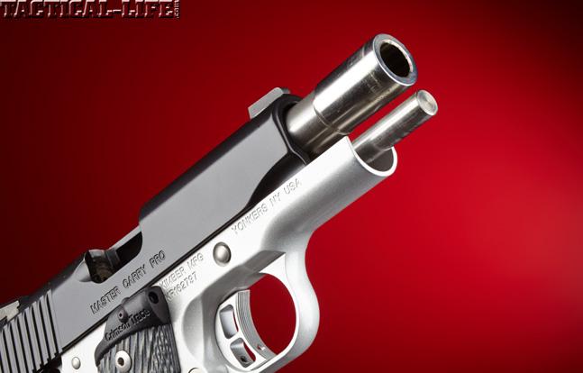 Combat Handguns top 1911 2015 KIMBER MASTER CARRY PRO barrel