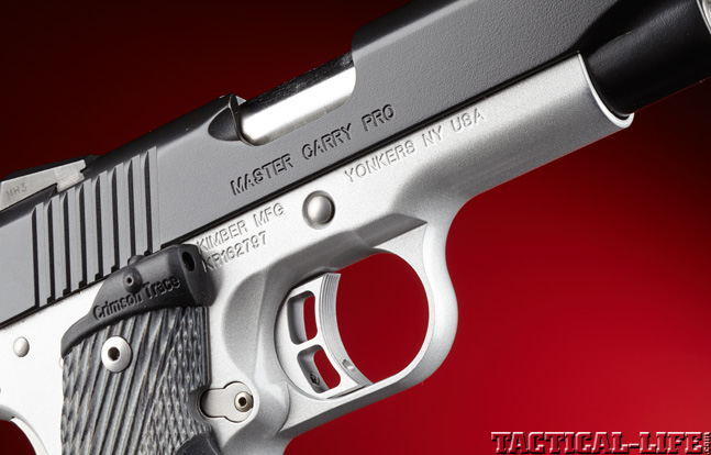 Combat Handguns top 1911 2015 KIMBER MASTER CARRY PRO trigger
