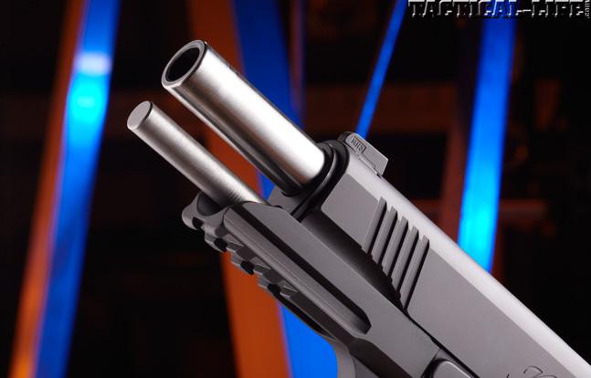 Combat Handguns top 1911 2015 KIMBER TLE RL II barrel