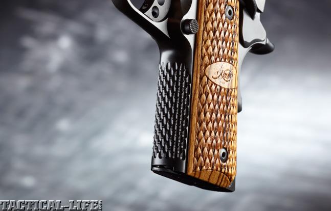 Combat Handguns top 1911 2015 KIMBER ULTRA RAPTOR II grip