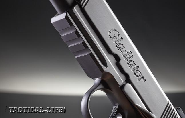 Combat Handguns top 1911 2015 MAXIMUS ARMS' GLADIATOR rail