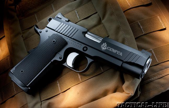 Combat Handguns top 1911 2015 NIGHTHAWK CUSTOM COSTA COMPACT lead