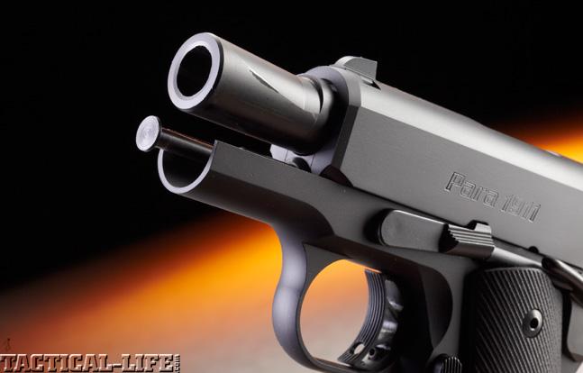 Combat Handguns top 1911 2015 PARA EXECUTIVE CARRY barrel