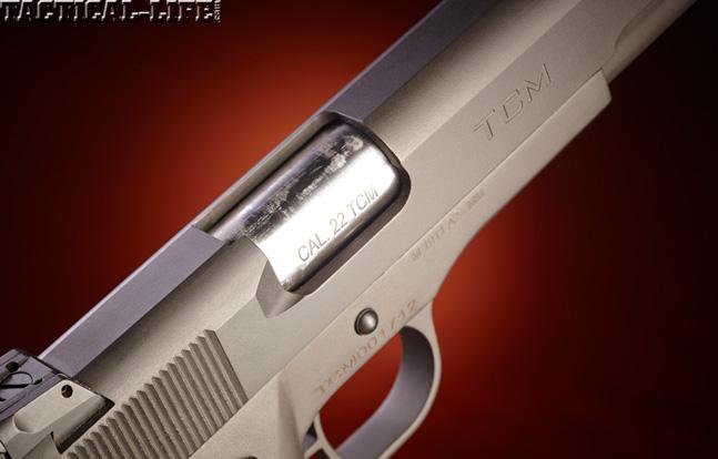 Combat Handguns top 1911 2015 ROCK ISLAND ARMORY .22 TCM 1911 port