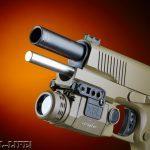 Combat Handguns top 1911 2015 TAYLOR'S TACTICAL 1911 COMPACT CARRY & 1911 FULL SIZE light