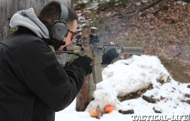 Top 30 Rifles TACTICAL WEAPONS 2014 Troy M7A1 PDW testing