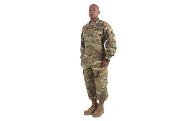 U.S. Army Operational Camouflage Pattern model