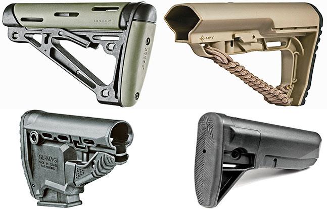Black Guns 2015 Buttstocks