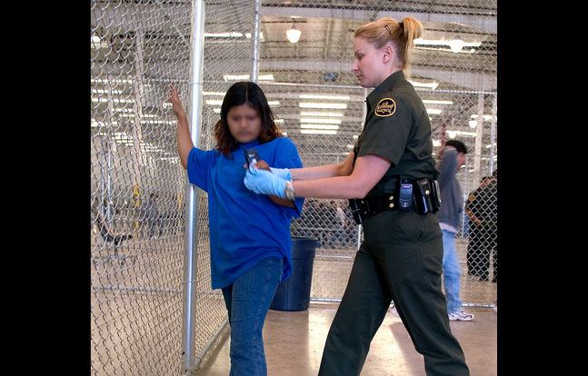 US Border Patrol female hiring
